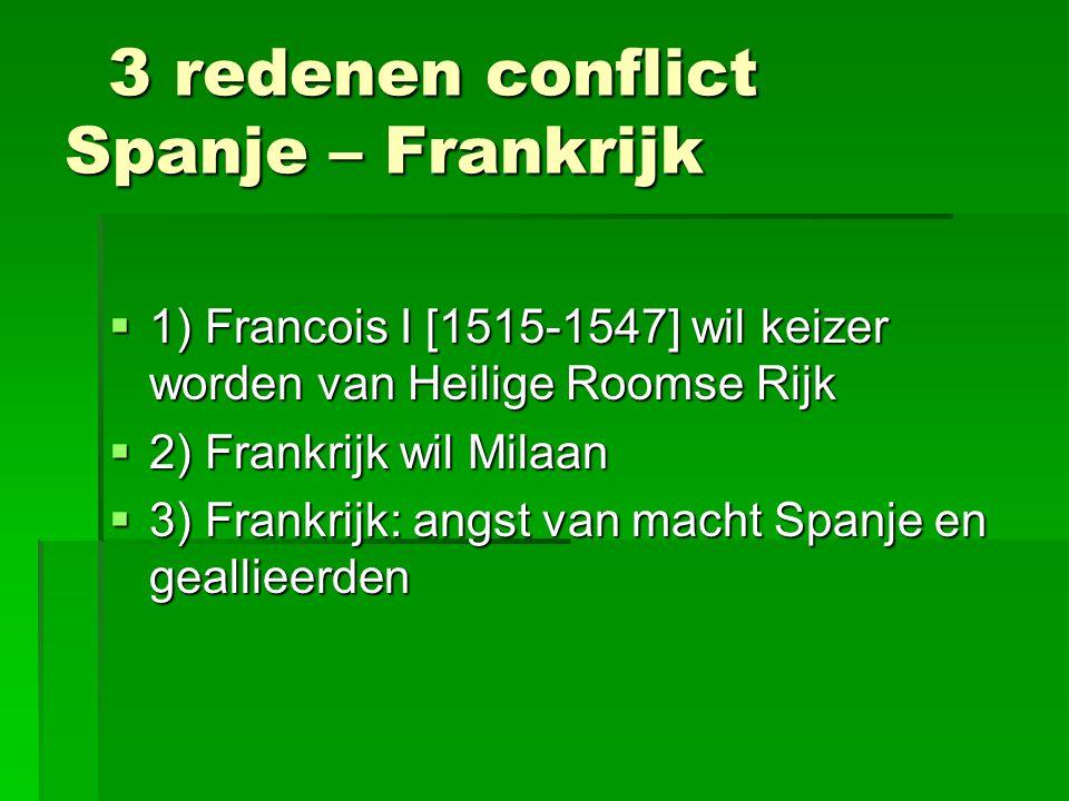 3 redenen conflict Spanje – Frankrijk