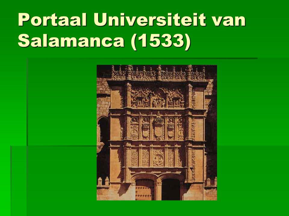 Portaal Universiteit van Salamanca (1533)