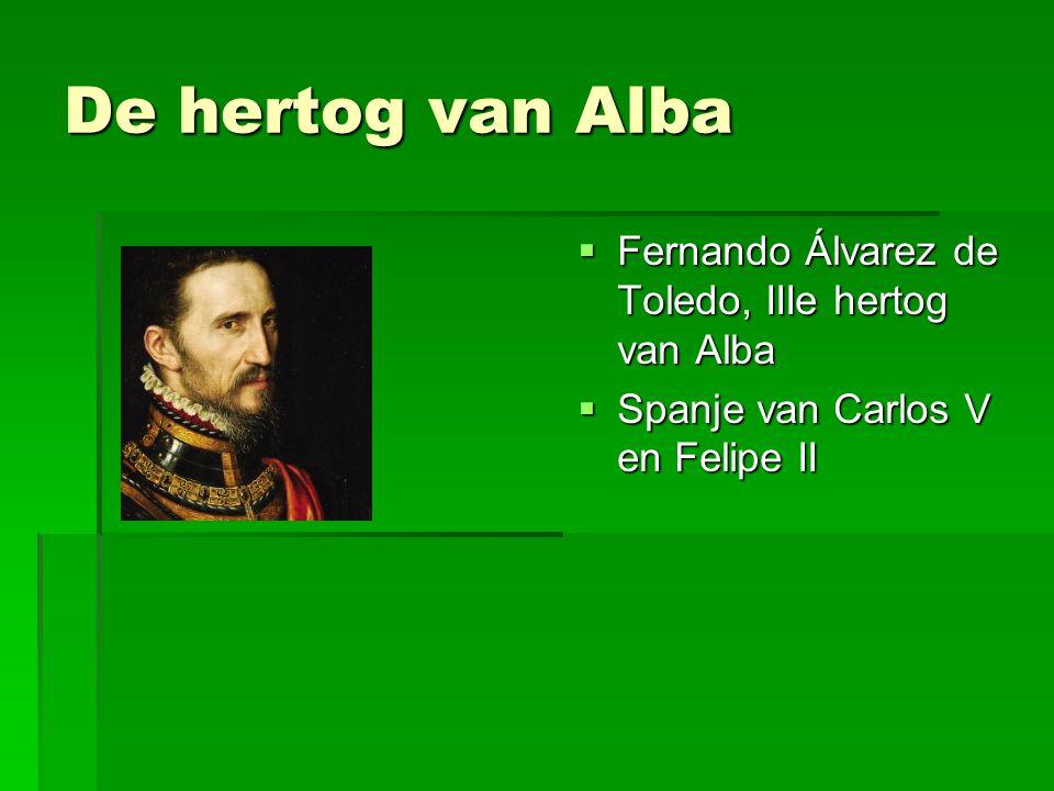 De hertog van Alba Fernando Álvarez de Toledo, IIIe hertog van Alba