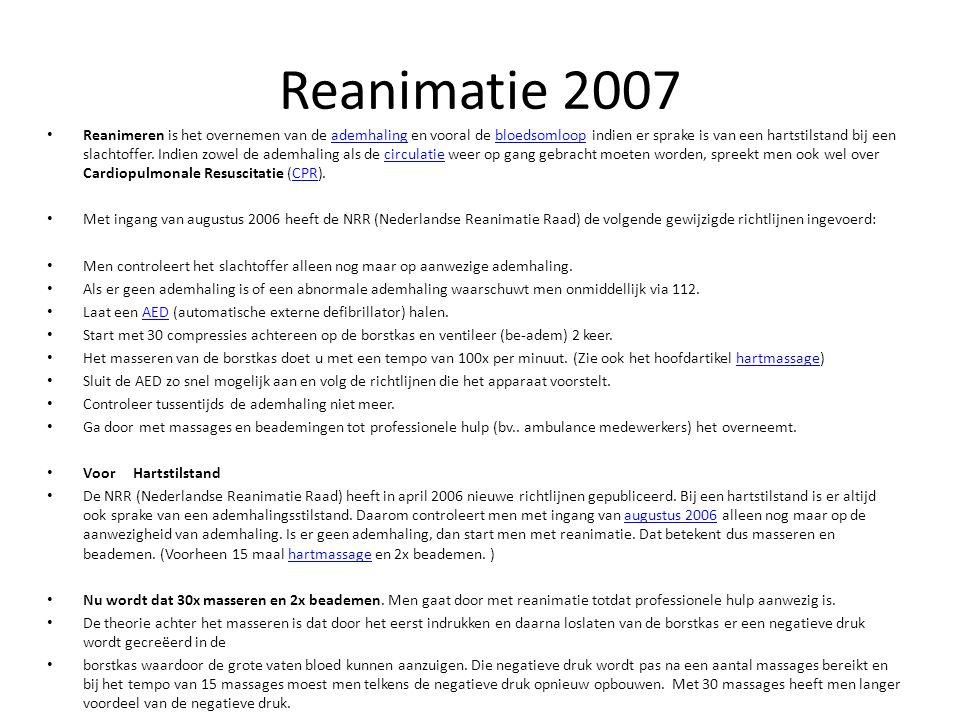 Reanimatie 2007