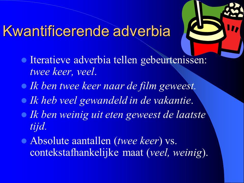 Kwantificerende adverbia