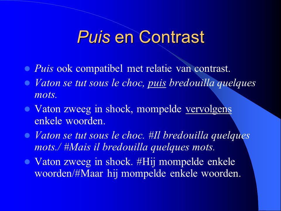 Puis en Contrast Puis ook compatibel met relatie van contrast.