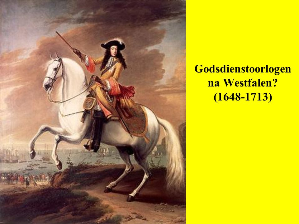 Godsdienstoorlogen na Westfalen (1648-1713)