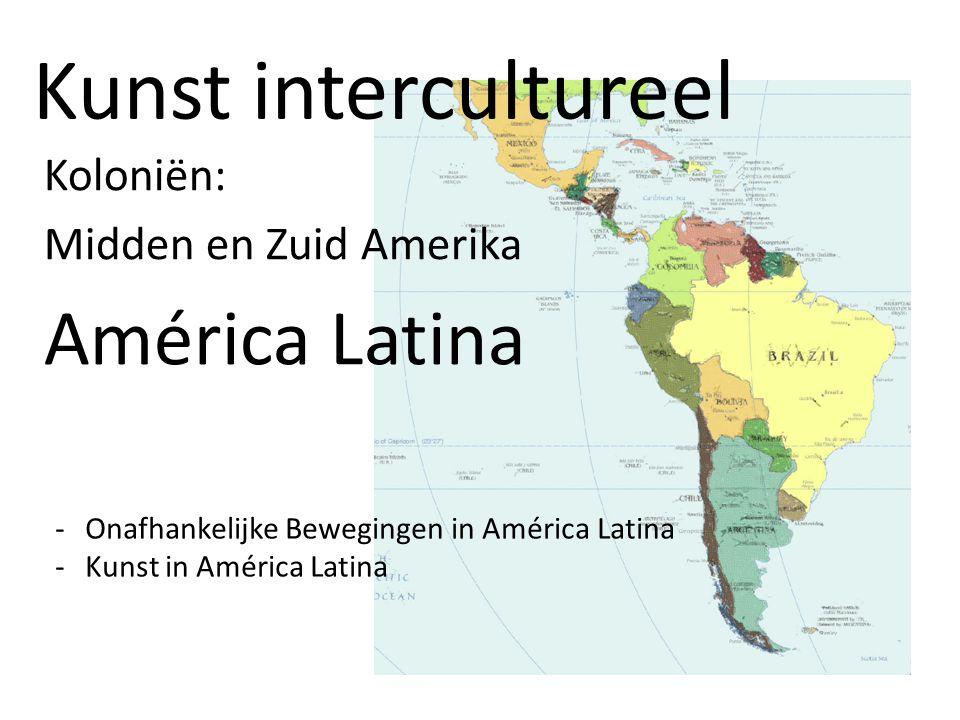 Koloniën: Midden en Zuid Amerika