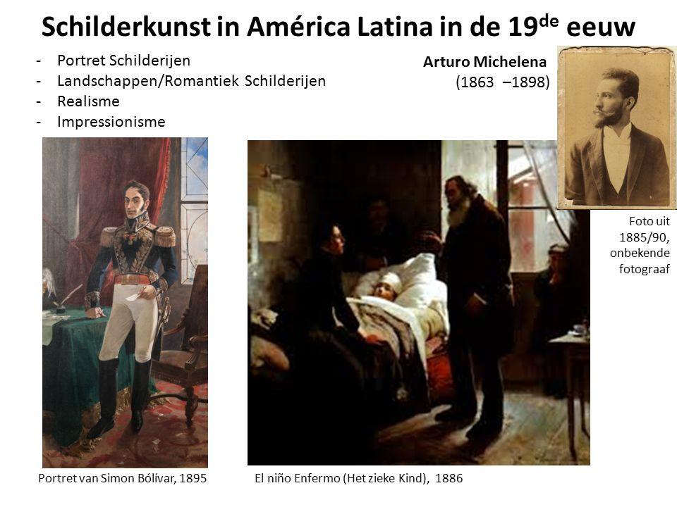 Schilderkunst in América Latina in de 19de eeuw