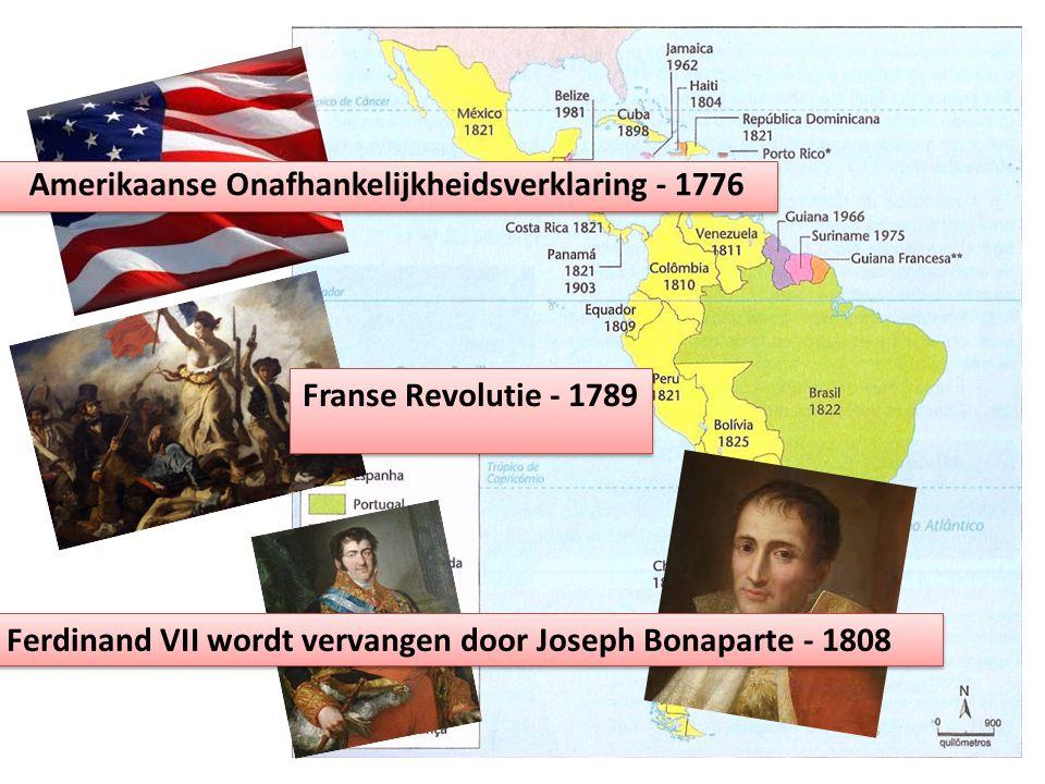 Amerikaanse Onafhankelijkheidsverklaring - 1776