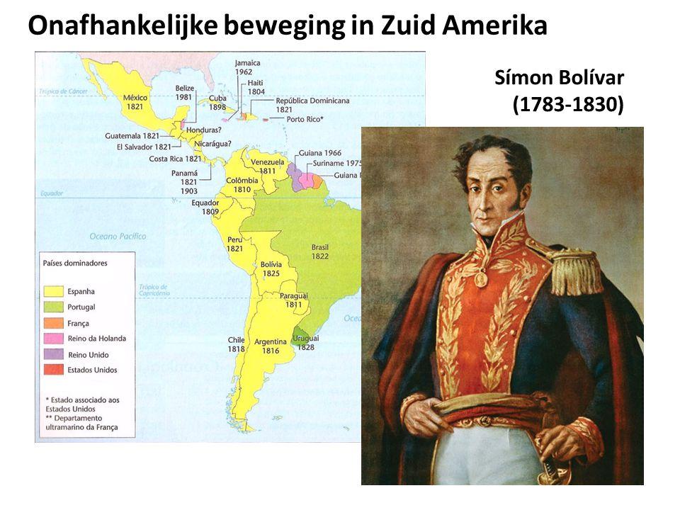 Onafhankelijke beweging in Zuid Amerika