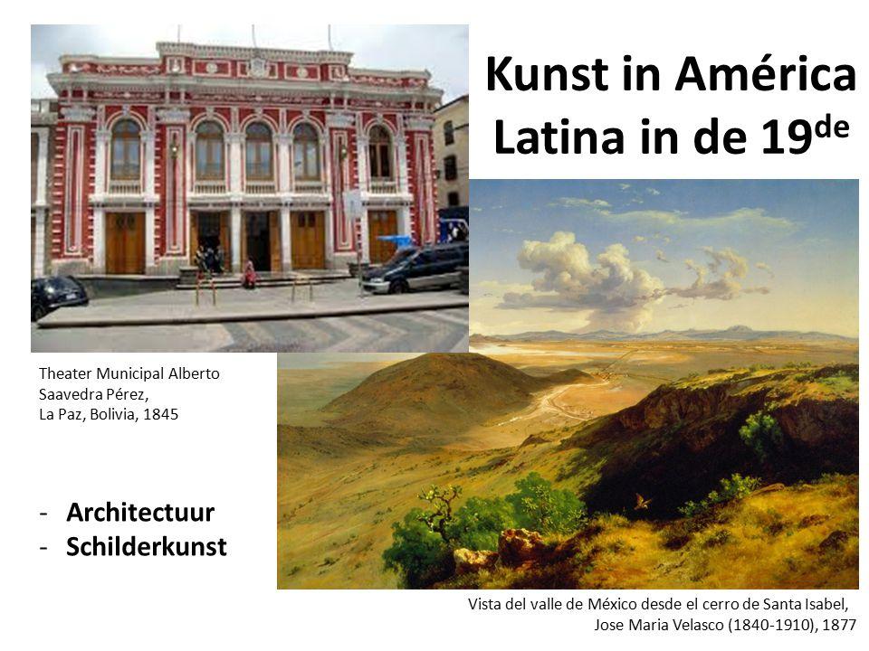 Kunst in América Latina in de 19de
