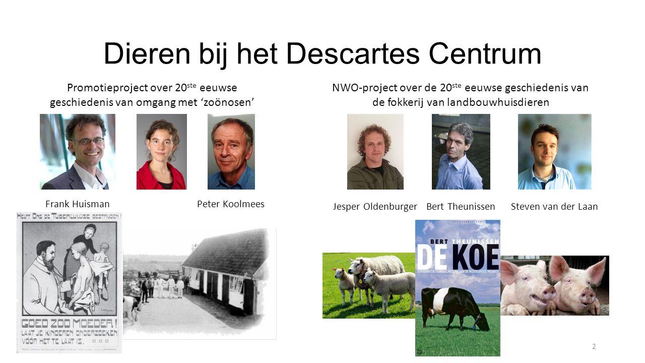 Dieren bij het Descartes Centrum