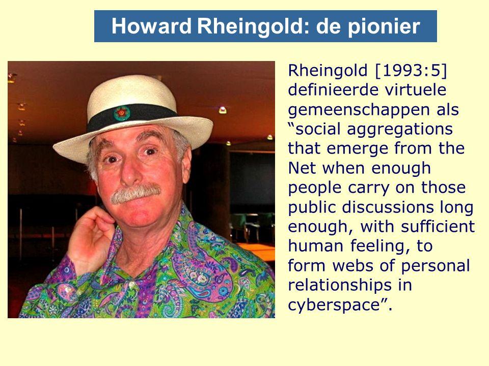 Howard Rheingold: de pionier