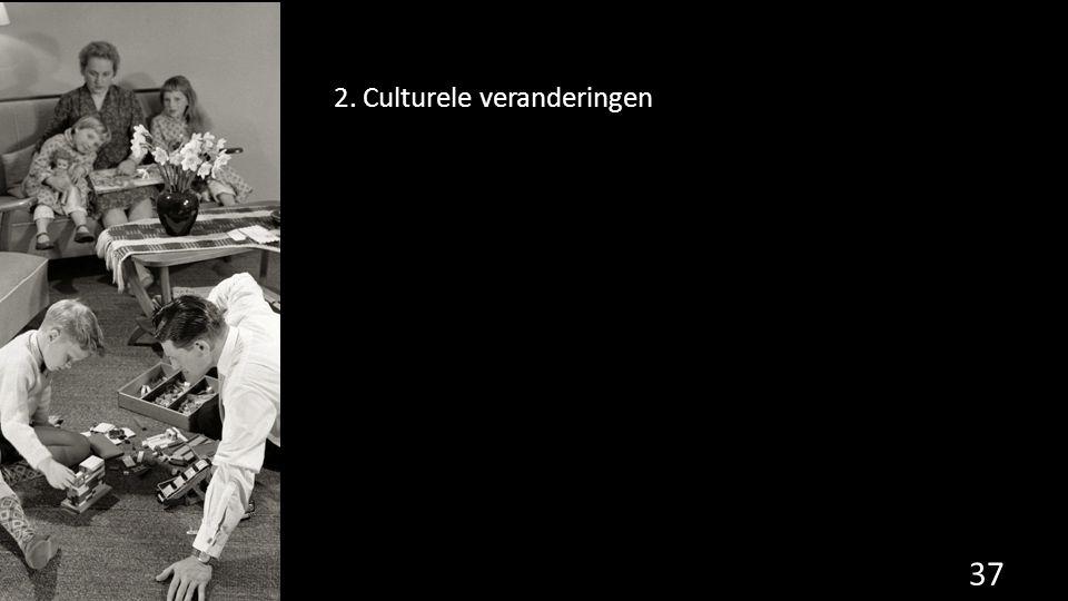 2. Culturele veranderingen