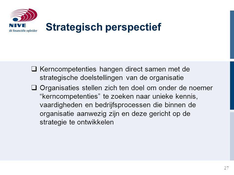 Strategisch perspectief