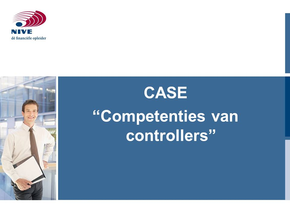 CASE Competenties van controllers