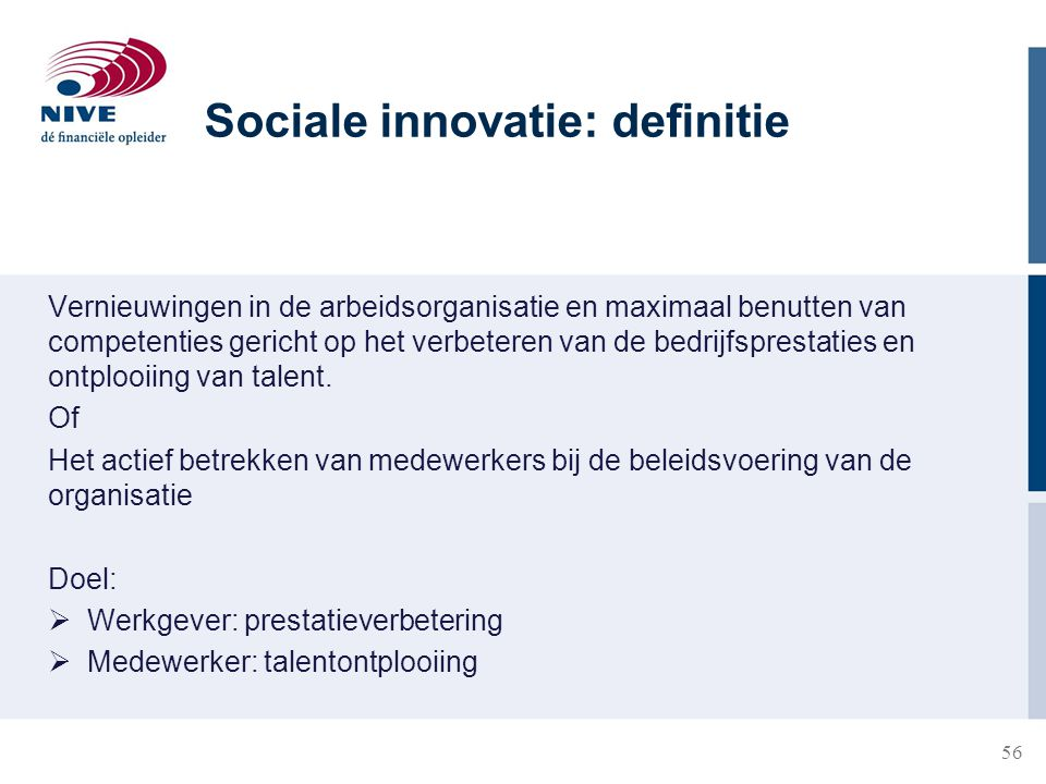Sociale innovatie: definitie