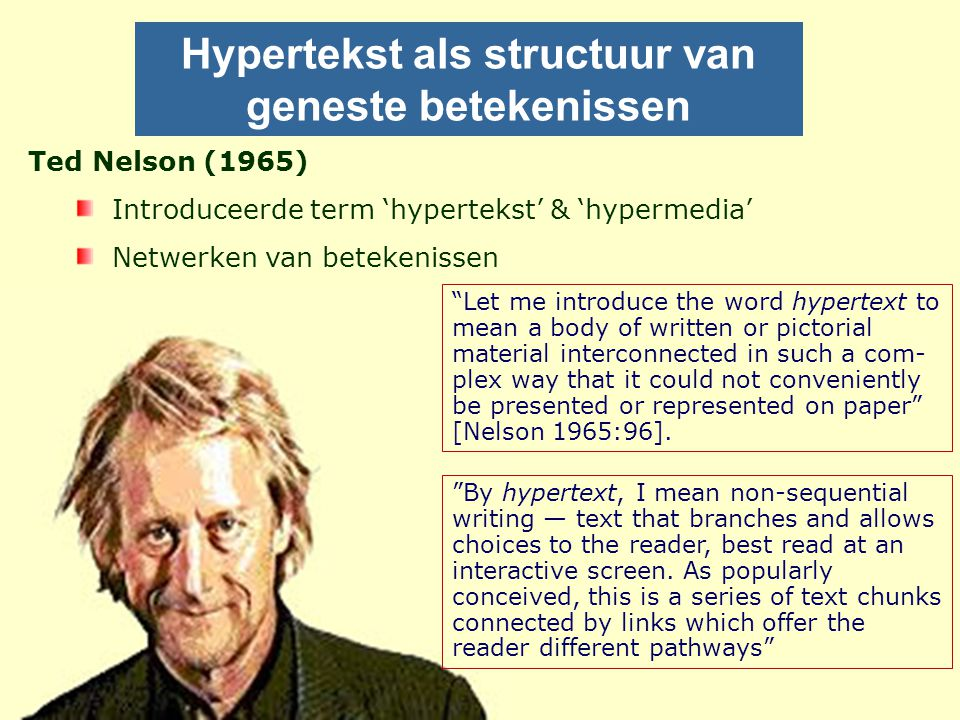 Hypertekst als structuur van geneste betekenissen