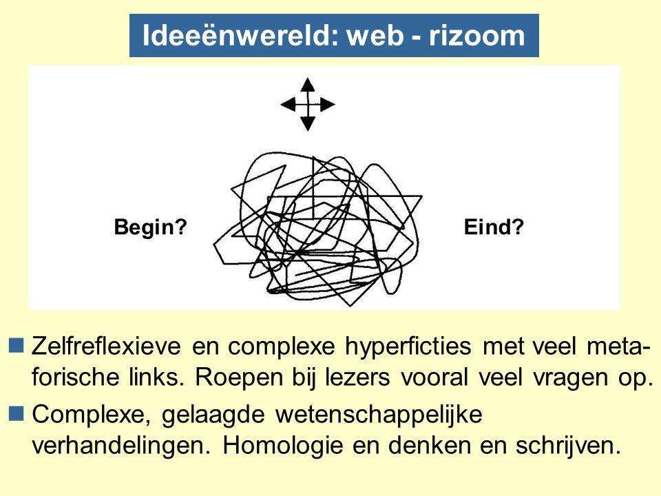 Ideeënwereld: web - rizoom