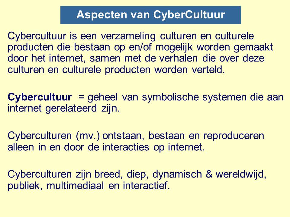 Aspecten van CyberCultuur