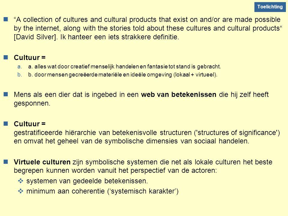 systemen van gedeelde betekenissen.