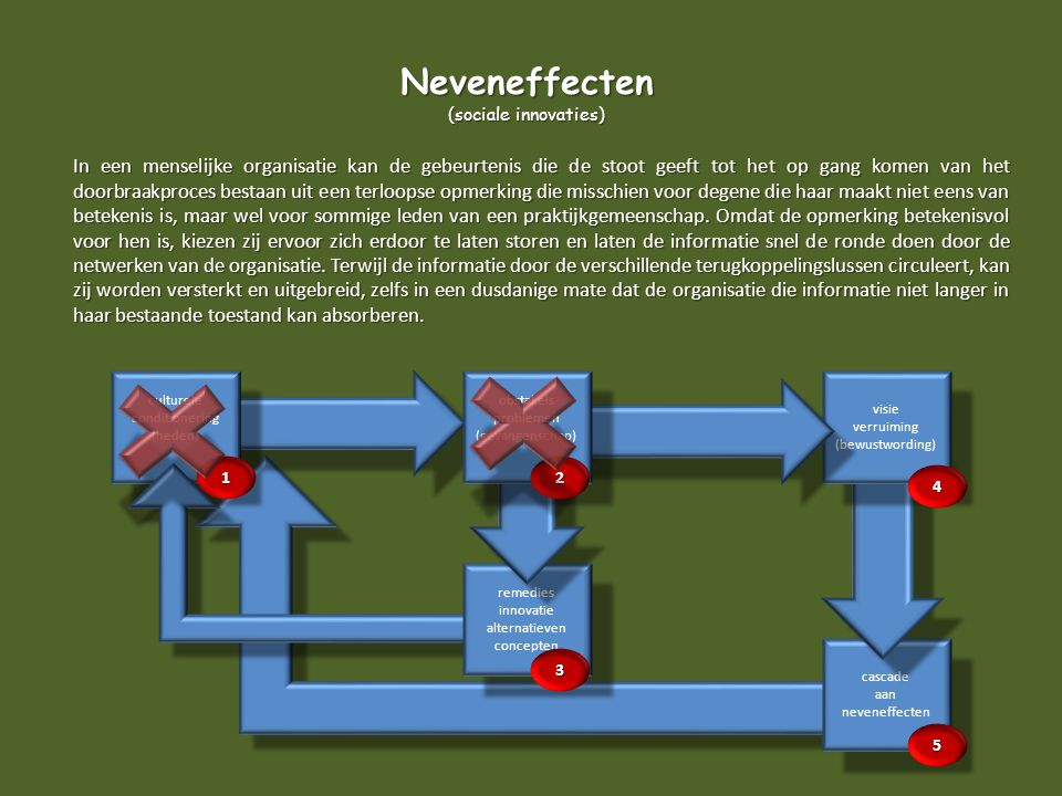 Neveneffecten (sociale innovaties)