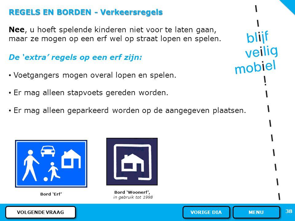 REGELS EN BORDEN - Verkeersregels