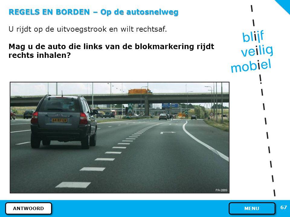 Regels inhalen snelweg
