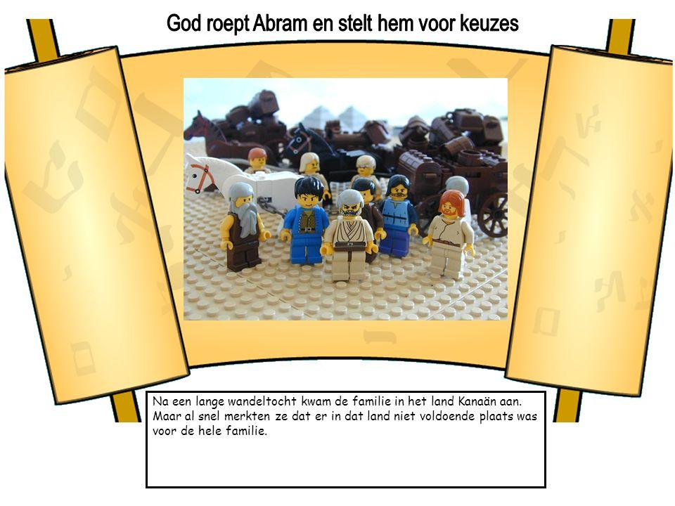 God roept Abram en stelt hem voor keuzes