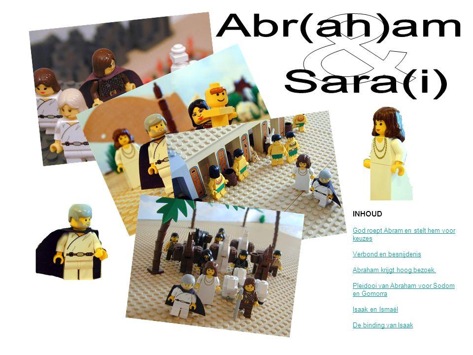 Abr(ah)am & Sara(i) INHOUD God roept Abram en stelt hem voor keuzes