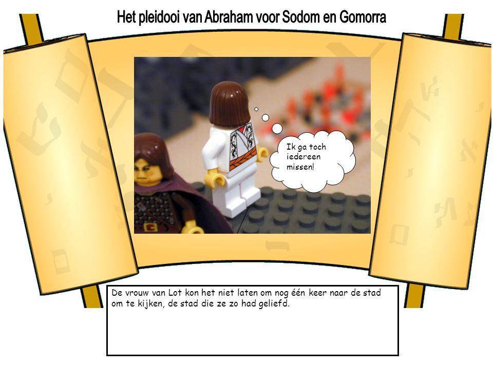 Het pleidooi van Abraham voor Sodom en Gomorra