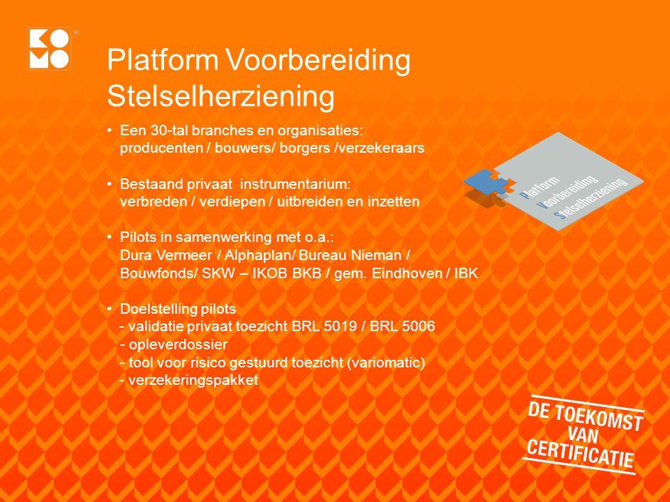 Platform Voorbereiding Stelselherziening