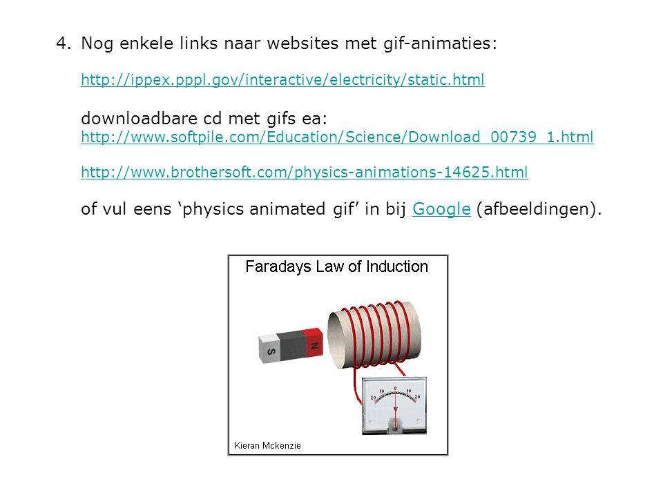 Nog enkele links naar websites met gif-animaties: http://ippex. pppl