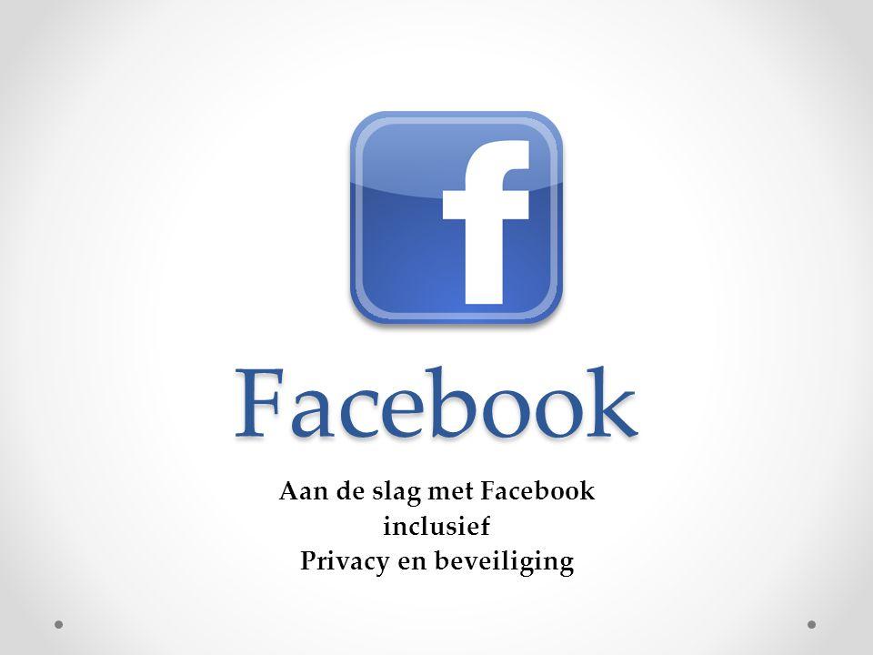 Aan de slag met Facebook inclusief Privacy en beveiliging