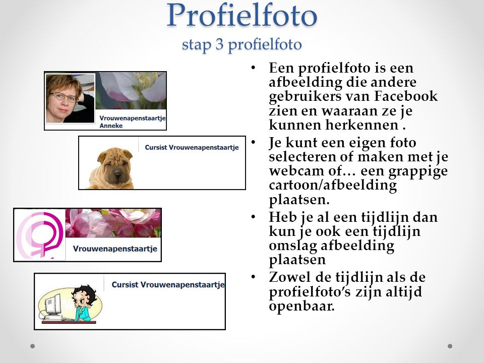 Profielfoto stap 3 profielfoto