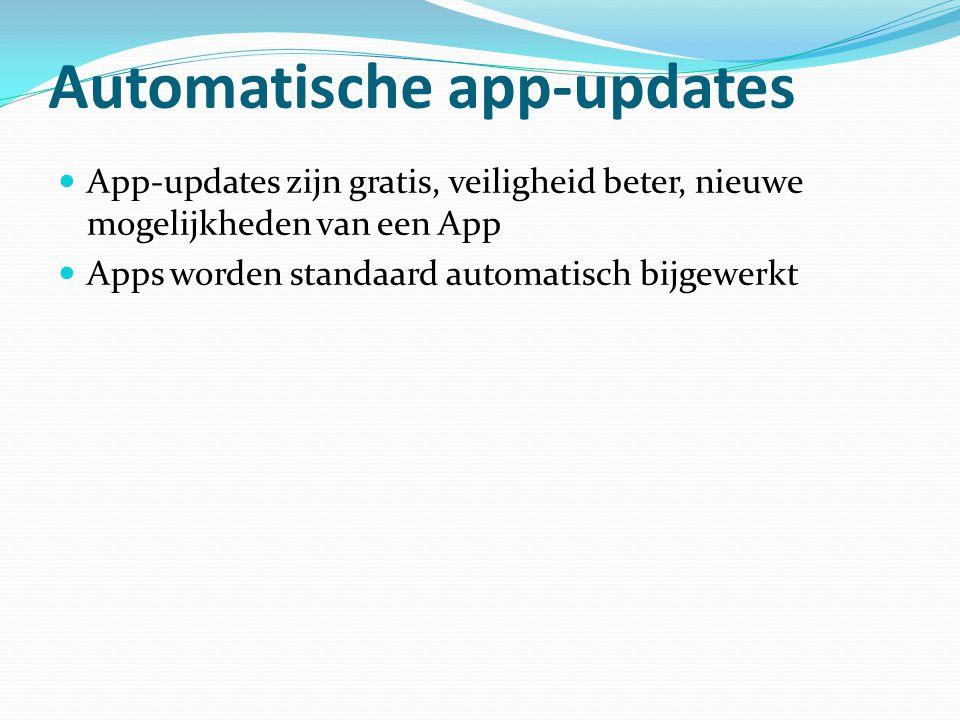 Automatische app-updates