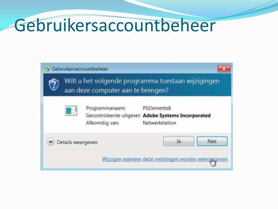Gebruikersaccountbeheer
