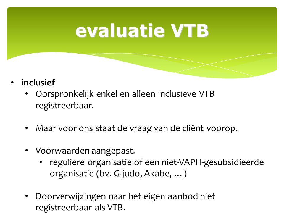 evaluatie VTB inclusief