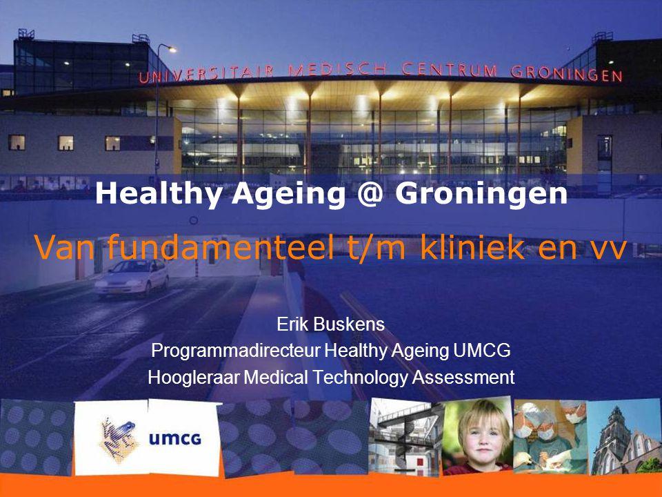 Healthy Ageing @ Groningen
