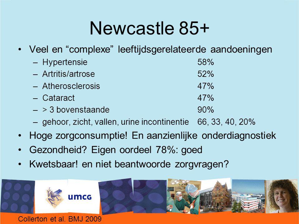 Newcastle 85+ Veel en complexe leeftijdsgerelateerde aandoeningen