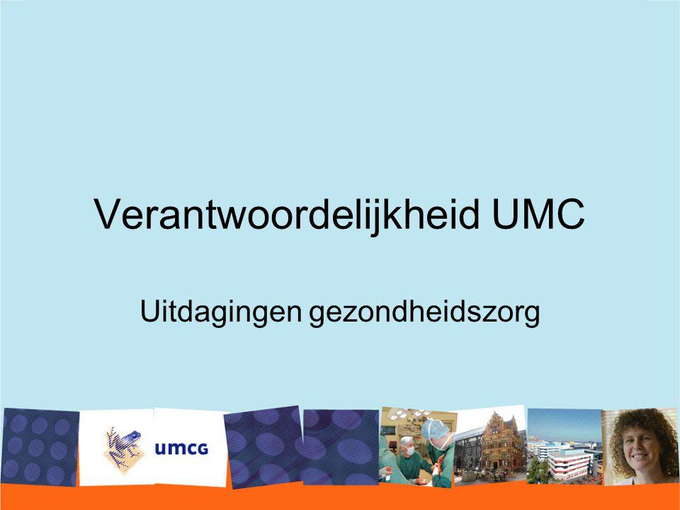 Verantwoordelijkheid UMC