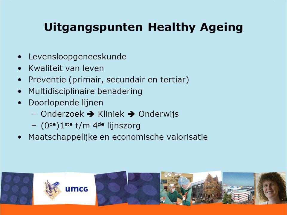 Uitgangspunten Healthy Ageing
