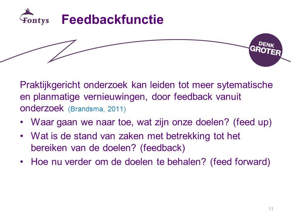 Feedbackfunctie