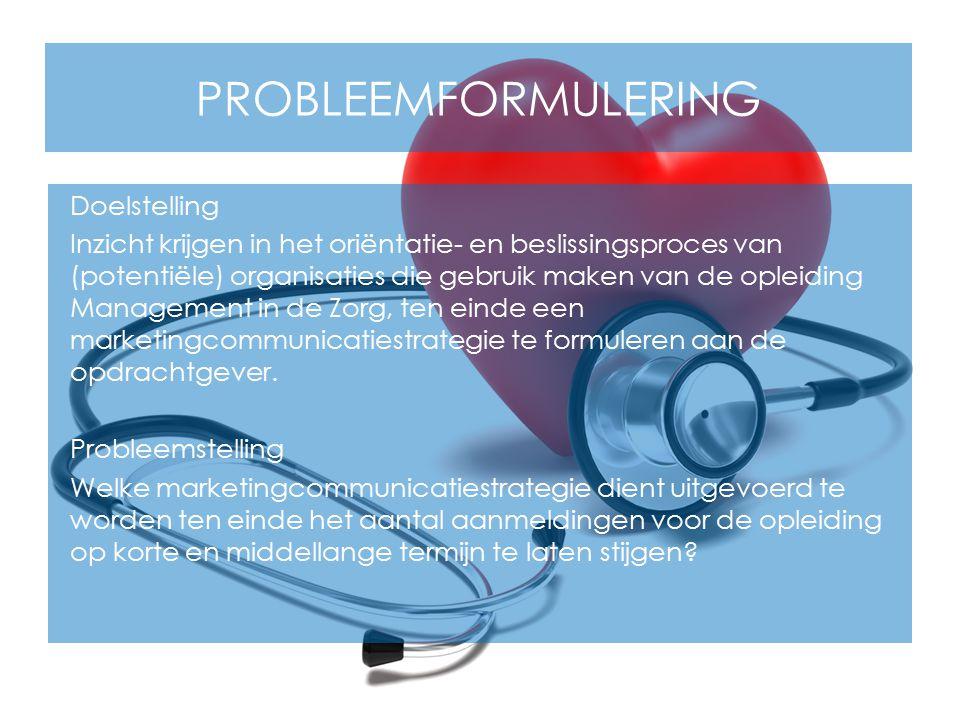 Probleemformulering
