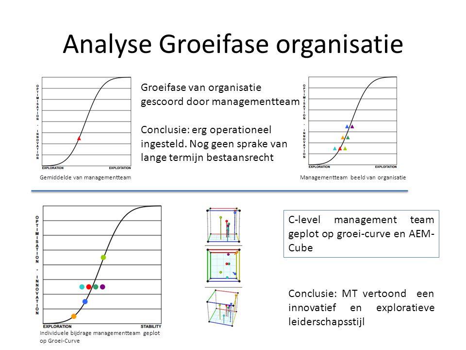 Analyse Groeifase organisatie