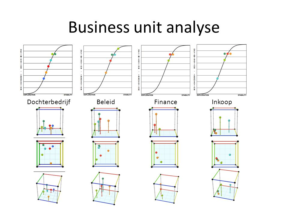 Business unit analyse Dochterbedrijf Beleid Finance Inkoop