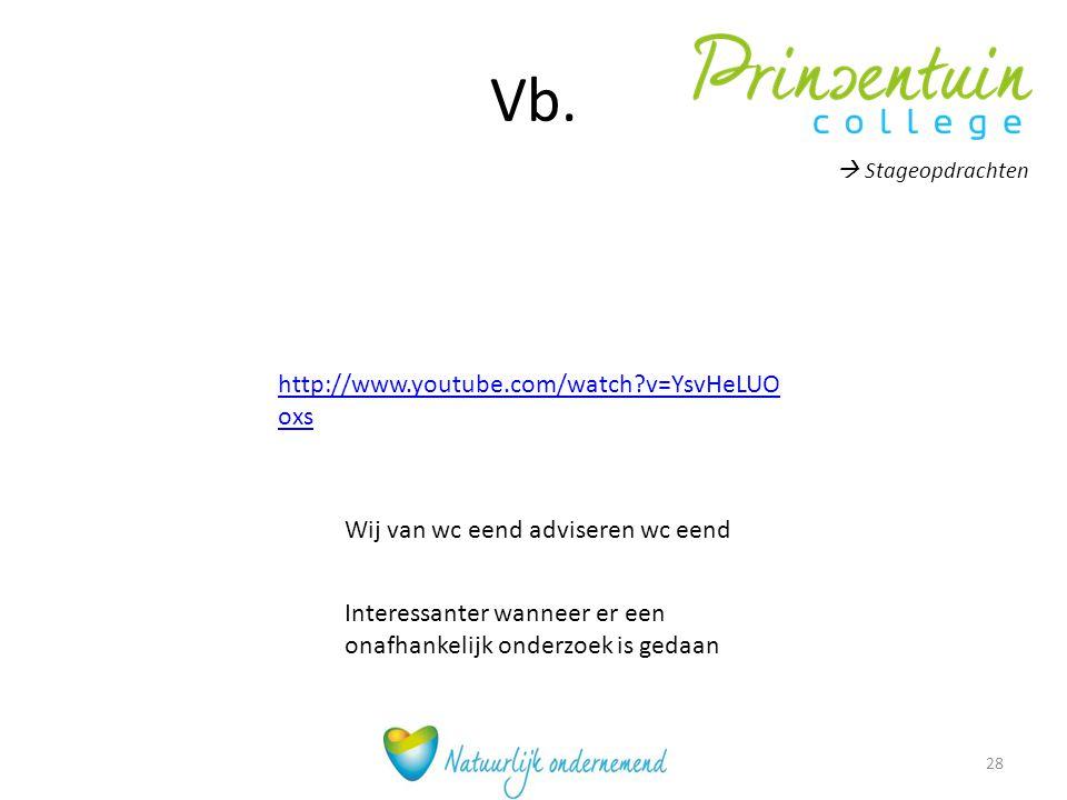 Vb. http://www.youtube.com/watch v=YsvHeLUOoxs
