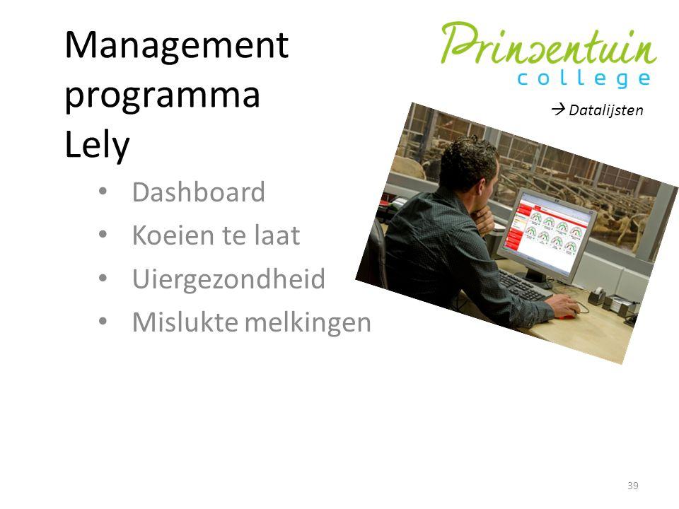 Management programma Lely