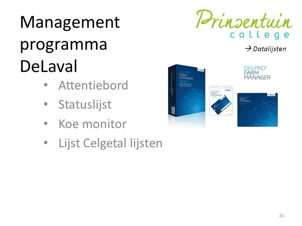 Management programma DeLaval