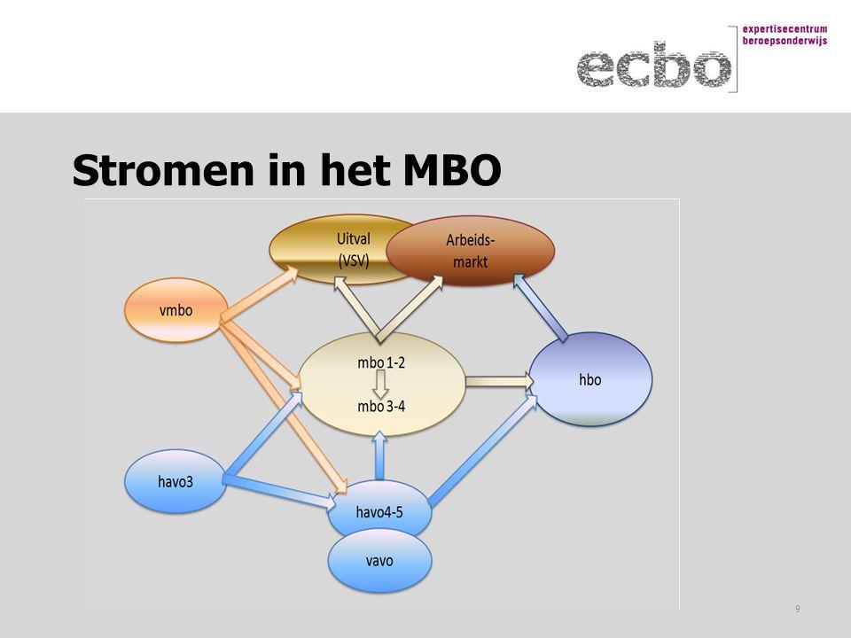 Stromen in het MBO