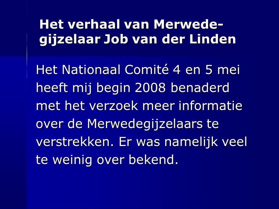 Het verhaal van Merwede-gijzelaar Job van der Linden