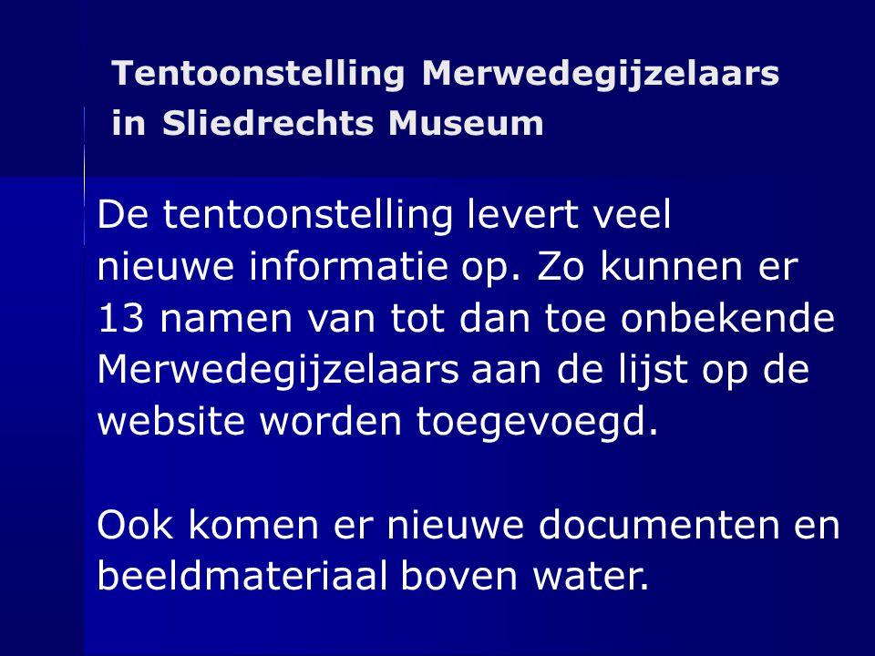 De tentoonstelling levert veel nieuwe informatie op. Zo kunnen er