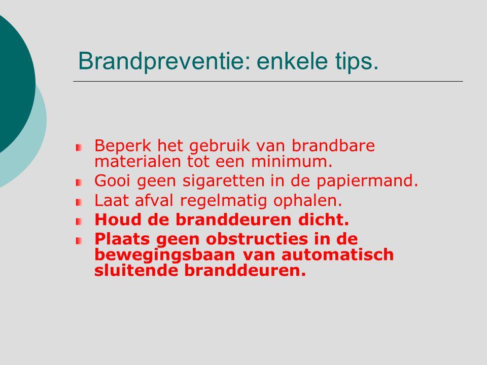 Brandpreventie: enkele tips.